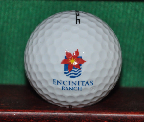 Encinitas Ranch Golf Course San Diego California Logo Golf Ball