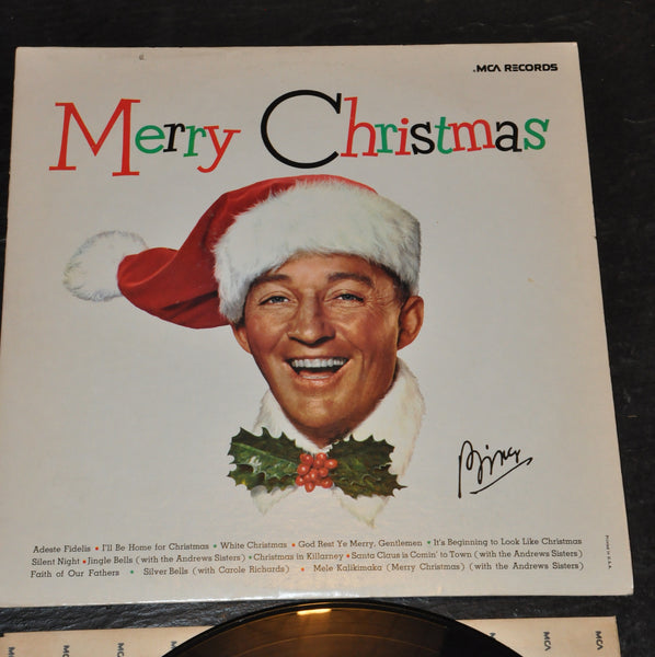 Merry Christmas Bing Crosby LP