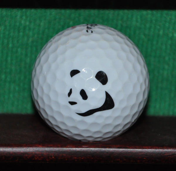 Panda Bear logo golf ball. Titleist.