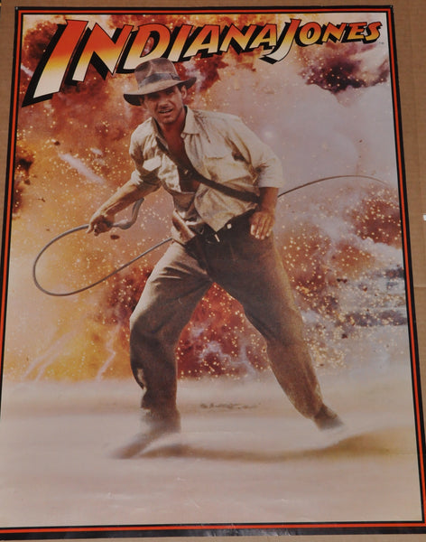 "Original Indiana Jones Movie Poster 1981 20"" x 28"""