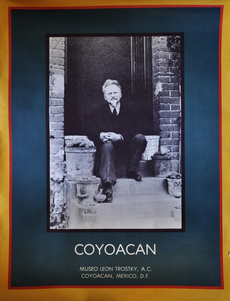 "Vintage Poster of the Museo Leon Trotsky Coyoacan Mexico. 30"" x 22"""