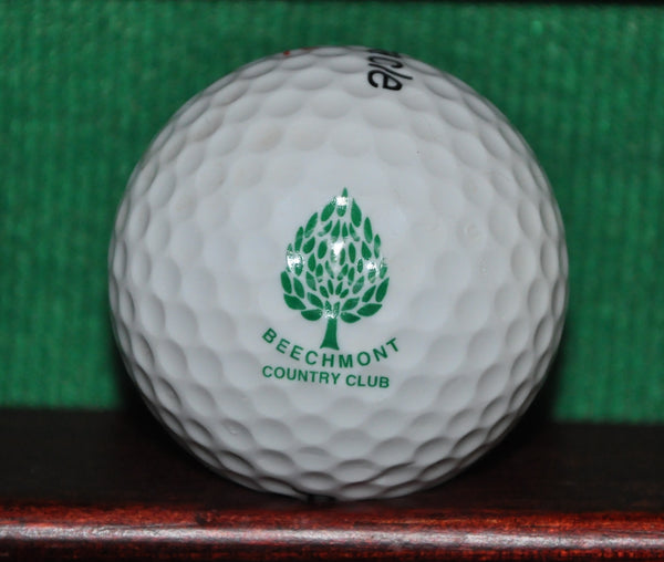 Beechmont Country Club Cleveland Ohio Logo Golf Ball