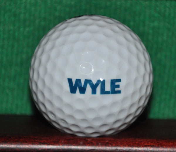 Vintage Acushnet Club Special Golf Ball. WYLE Laboratories Logo.