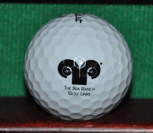 The Sea Ranch Golf Links California Coast logo golf ball. Titleist NXT Tour