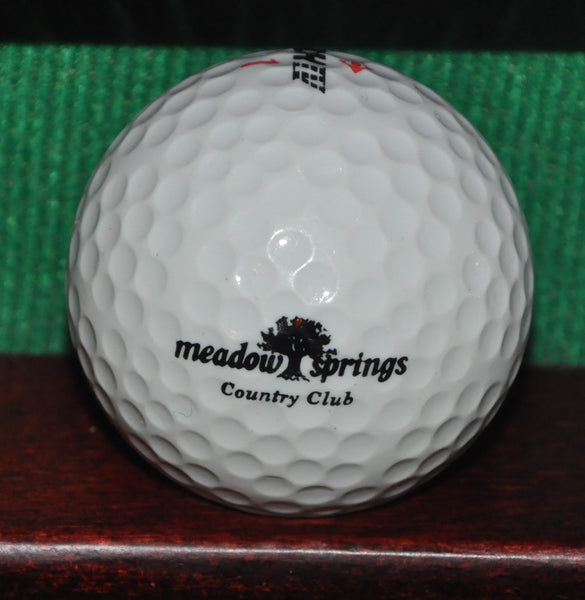 Meadow Springs Country Club Richland Washington Logo Golf Ball Maxfli DDH