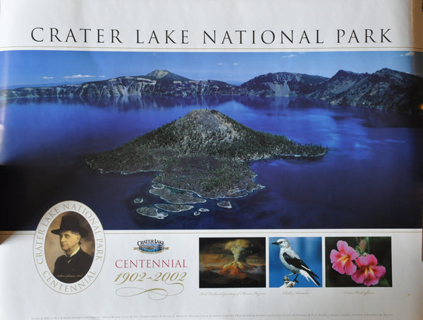 "Crater Lake National Park Centennial Poster 18"" x 24"""