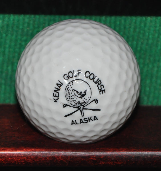 Kenai Golf Course Alaska Logo Golf Ball