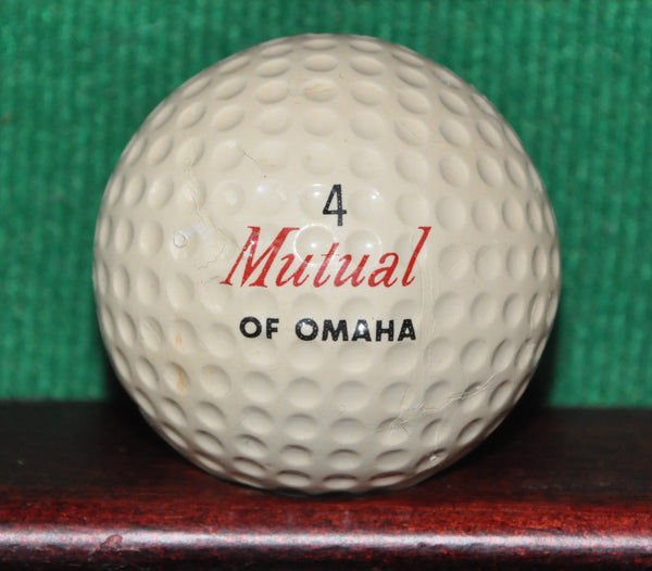 Vintage Mutual of Omaha Logo Golf Ball
