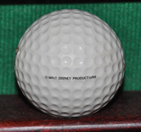 Vintage Walt Disney Mickey Mouse Logo Golf Ball. Maxfli