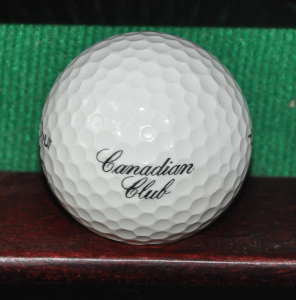Canadian Club Whisky Logo Golf Ball