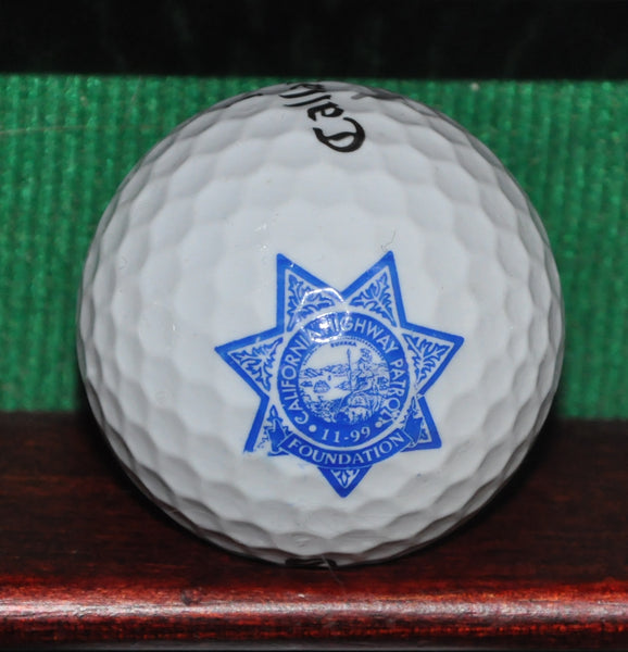 California Highway Patrol Foundation Logo Golf Ball. Callaway