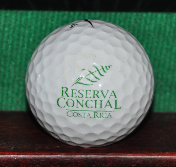 Reserva Conchal Golf Resort Costa Rica Logo Golf Ball. Nike