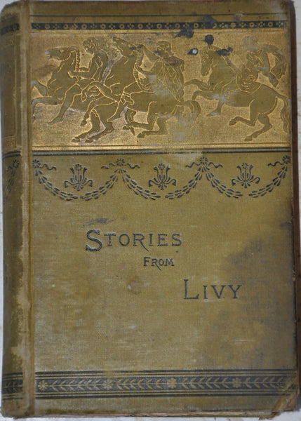 Stories from Livy by Alfred Church 1883 Hardcover Illustrated