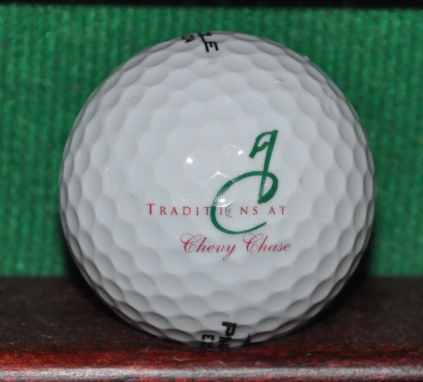 Traditions at Chevy Chase Golf Course Chicago Illinois Logo Golf Ball