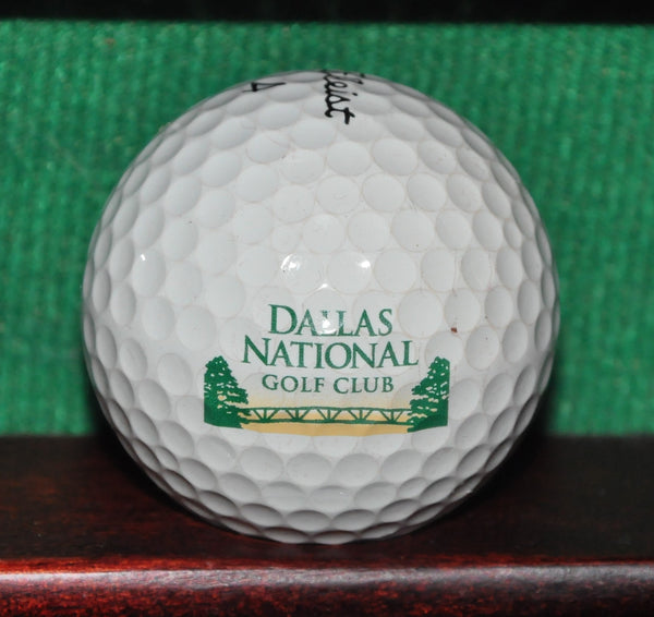 Dallas National Golf Club Texas Logo Golf Ball. Titleist Pro V1