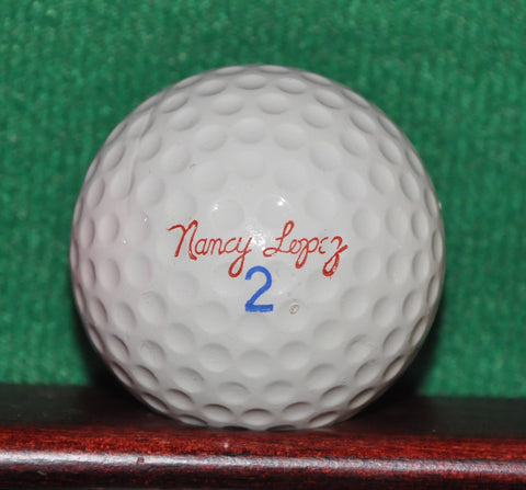 Vintage Nancy Lopez LPGA Signature Logo Golf Ball RAM Surlyn