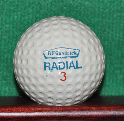 Vintage BF Goodrich Radial Tires Logo Golf Ball