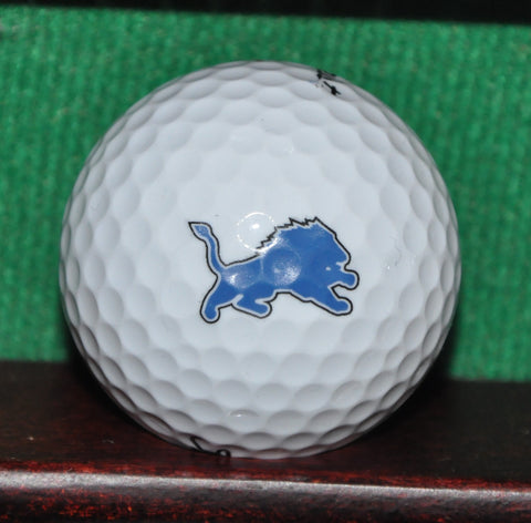 Detroit Lions NFL Football Logo Golf Ball. Titleist