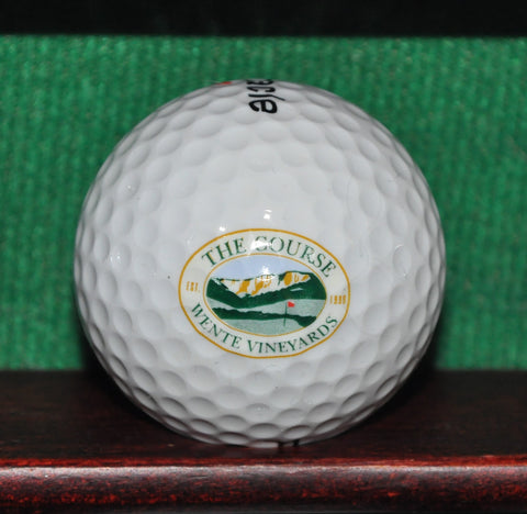 The Course at Wente Vineyards Livermore California Logo Golf Ball
