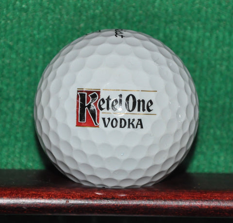Ketel One Vodka Logo Golf Ball. Titleist Pro V1