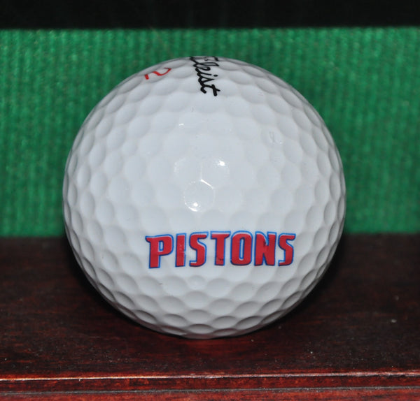 Detroit Pistons NBA Logo Golf Ball. Titleist