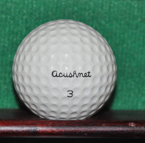 Vintage Acushnet Club Special Golf Ball.