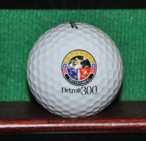 Detroit 300 Tricentennial Logo Golf Ball. 2001. Titleist