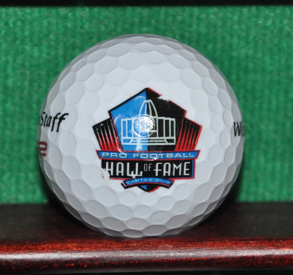 Pro Football Hall of Fame Canton Ohio Logo Golf Ball