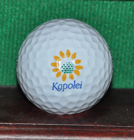 Kapolei Golf Club Oahu Hawaii Logo Golf Ball