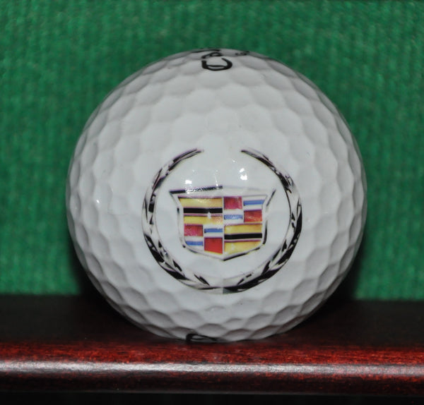 Cadillac Motors logo golf ball. Callaway.