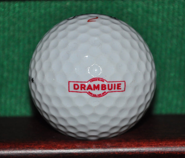 Drambuie Liqueur Logo Golf Ball. Titleist