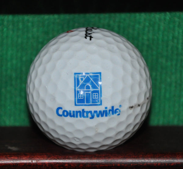 Countrywide Mortgage Company logo golf ball. Titleist.