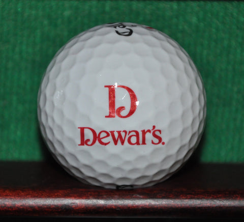 Dewar's Whisky Logo Golf Ball. Callaway.