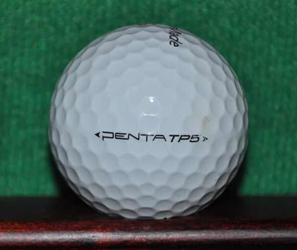 Black Butte Ranch Golf Club Bend Oregon logo golf ball. Taylormade Penta