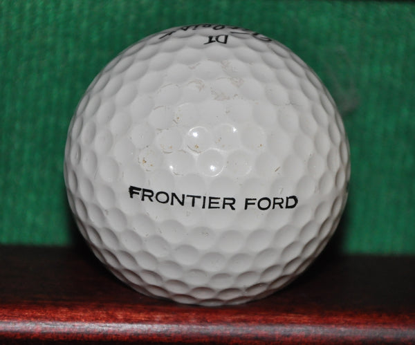 Vintage Ford Motor Company logo golf ball. Titleist.