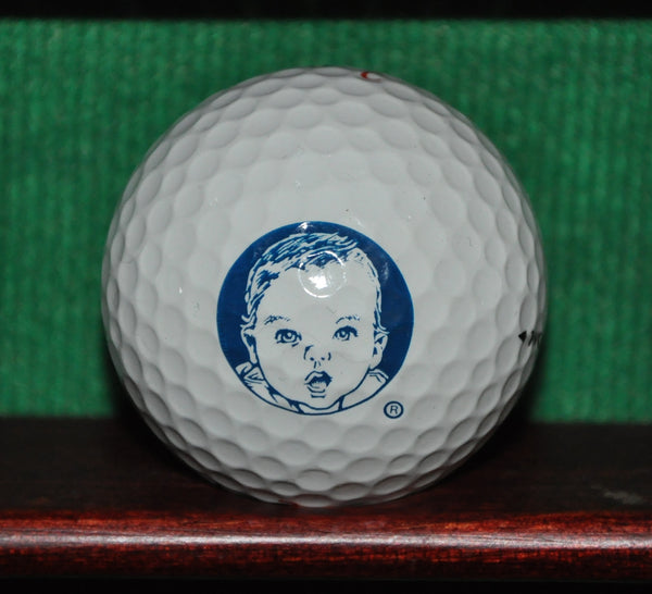 Gerber Baby Food logo golf ball. Maxfli