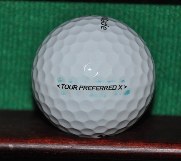 University of San Francisco USF logo golf ball. TaylorMade Tour Preferred