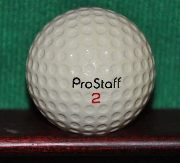 Vintage Amana Corporation logo golf ball. Wilson ProStaff