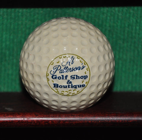 Vintage Al Patterson's Golf Shop and Boutique at Fort Meyers Country Club logo Golf Ball