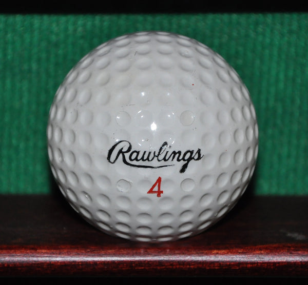 Vintage Lee Trevino Red Sombrero Golf Ball by Rawlings
