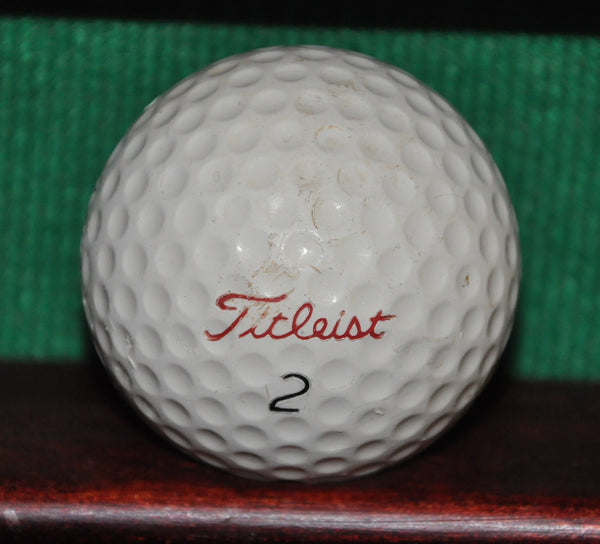 Vintage Titleist Acushnet DT Golf Ball.