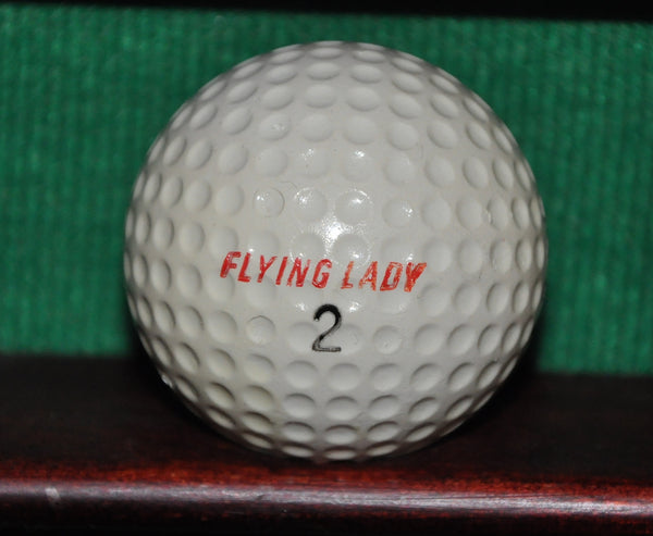 Vintage Spalding Flying Lady Golf Ball