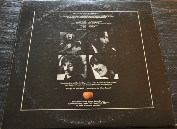 Let It Be by the Beatles LP Apple Records