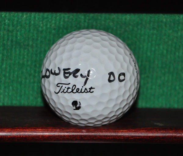 PGA Tour Professional Steve Lowery Personal Golf Ball from the Memorial Tournament 2000