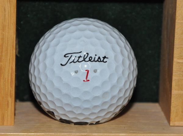 Masters Champion Larry Mize Personal Golf Ball from the Memorial Tournament