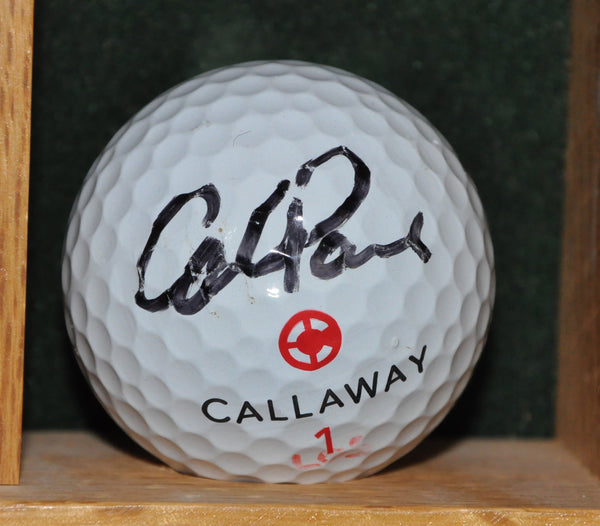PGA Tour Player Carl Paulson Autographed Golf Ball from the Memorial Tournament