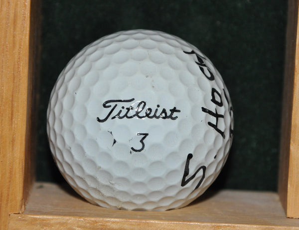 PGA Tour Player Scott Hoch Personal Ball from the Memorial Tournament 1995.