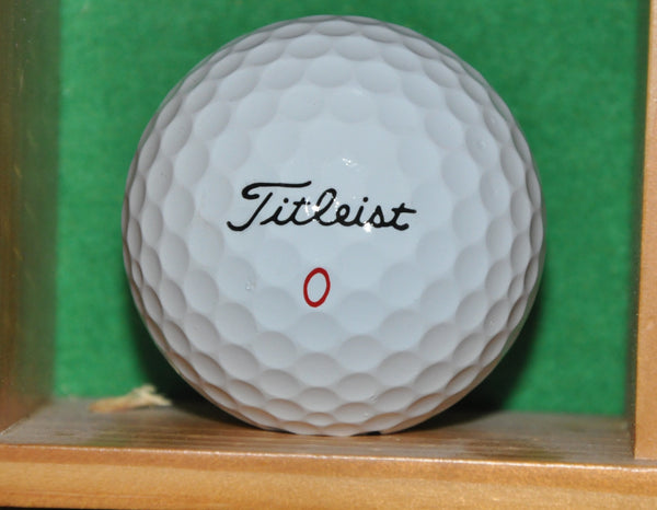 Golf HOF, British Open and US Open Champion Ernie Els Autographed Personal Golf Ball