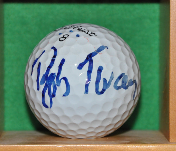 PGA Champion Bob Tway Autographed Golf Ball from the Memorial Tournament