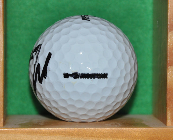 PGA Tour Star Matt Kuchar Autographed Golf Ball from the Memorial Tournament